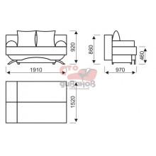 Торонто III диван